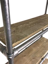 Schappenkast van steigerbuis en steigerhout (BSB)