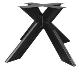 Stalen onderstel 3D gepoedercoat  (knock-down) koker 15x5cm (kort130)