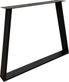 Tafel onderstel Taps model Exclusivline 10x2cm zwart (STRIP)