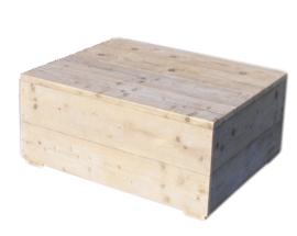 Doe-Het-Zelf bouwpakket Hocker van oud of nieuw steigerhout