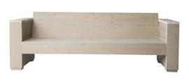 Doe-Het-Zelf bouwpakket loungbank steigerhout massief 3- zits kleur zand