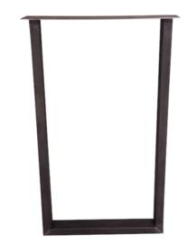 Stalen bartafel poot Marjo koker 8x4cm (STRIP)