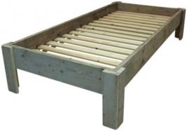 1 persoons budget bed steigerhout (BDG)