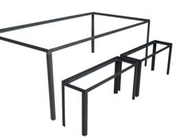 Stalen tafel frame Bram