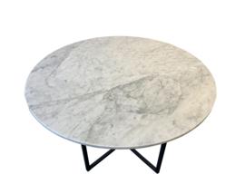 Tafelblad rond marmer Bianco Carrara wit diameter 130cm