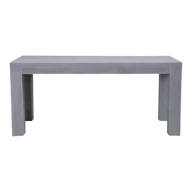 Tuintafel steigerhout blokpoot beton grijs Doe-Het-Zelf bouwpakket