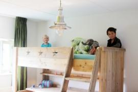 Martijn - hoogslaper oud steigerhout
