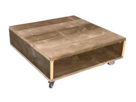 Doe-Het-Zelf bouwpakket salontafel van oud of nieuw steigerhout