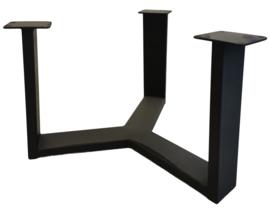 Stalen salontafel onderstel model 3 Y poot