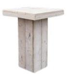 Statafel van gebruikt steigerhout