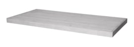 Tafelblad steigerhout Bologna kleur schelpwit 180x90cm ( voorraad magazijn artikel)