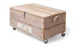 Doe-Het-Zelf bouwpakket speelgoedkist van oud of nieuw steigerhout