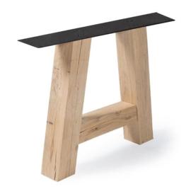 Eiken tafel onderstel model A  12x12cm