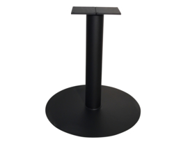 """Stalen tafel onderstel model """"Rond"""" koker 12cm"""