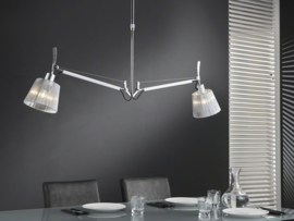 7887/33 Hanglamp 2L multiflex Chrome