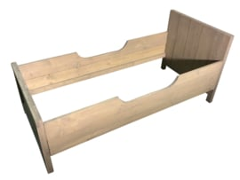 Kinderbed steigerhout greywash (KEL)