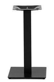 Horeca tafelonderstel vierkant Gietijzer zwart model Gastro enkel