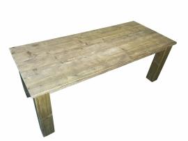Doe-Het-Zelf bouwpakket tafel van oud of nieuw steigerhout