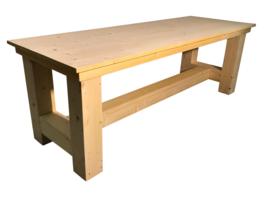 Kloostertafel van nieuw steigerhout (KLTO)
