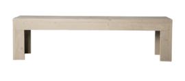 Openbank steigerhout kleur zand 120cm (voorraad magazijn artikel)