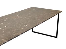 Tafelblad marmer Marron Emperador Bruin afmeting 220x100cm