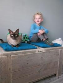familie Jungslager - speelgoedkist van oud steigerhout