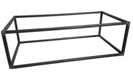 Stalen salontafel of sidetable buisframe koker maat 2x2cm
