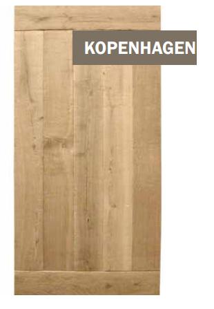 Eiken tafelblad Kopenhagen