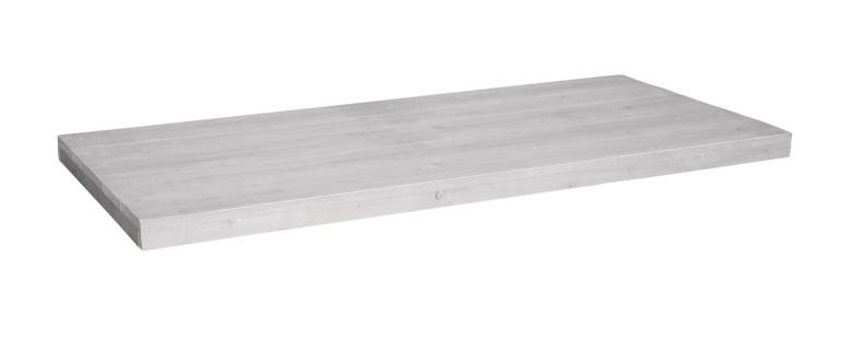 Tafelblad steigerhout Modena kleur schelp wit