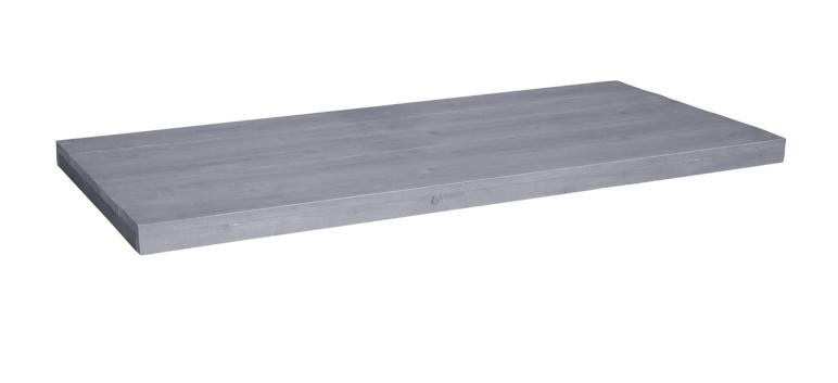 Tafelblad steigerhout Modena kleur beton grijs