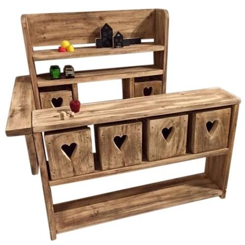 Doe-Het-Zelf bouwpakket Kinderwinkeltje steigerhout