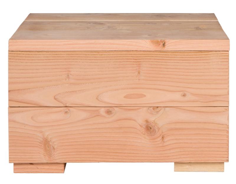 Kubustafel Hocker steigerhout Douglas