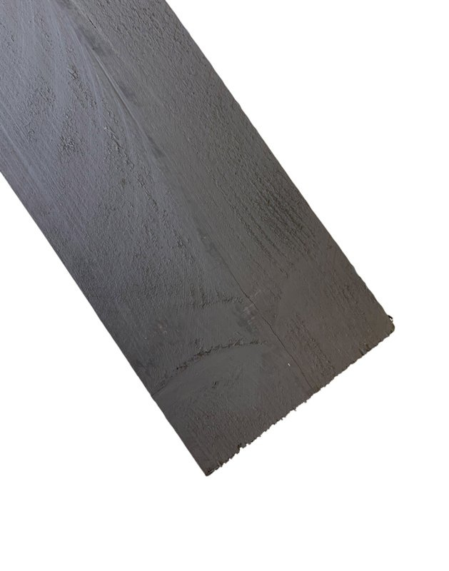Steigerplank beton grijs B kwaliteit 3cm dik prijs per meter