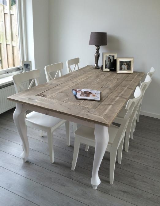 Ongebruikt Tafel Maison Queen Anne steigerhout | Assortiment Rechte KE-55