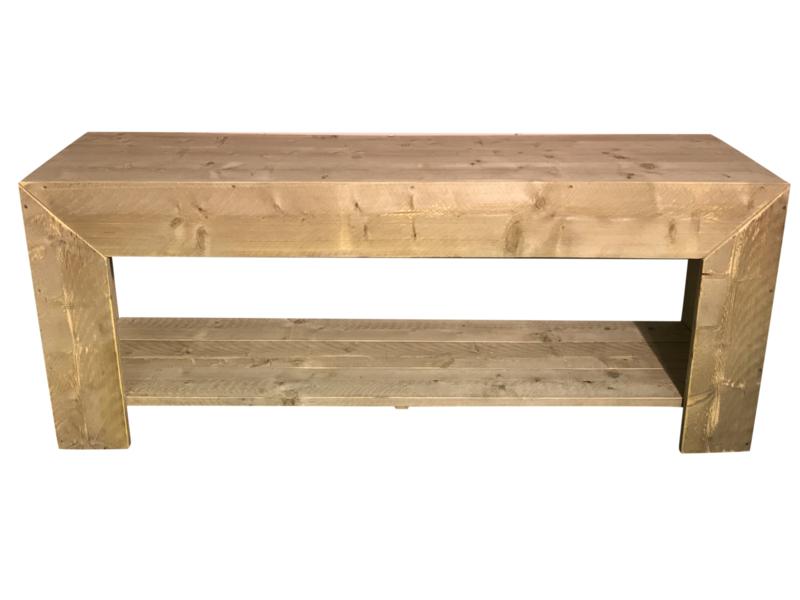 Badkamer meubel recht van steigerhout (BD)