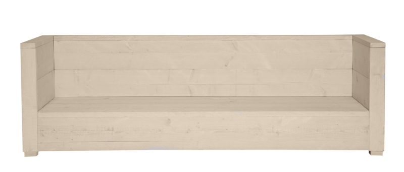 Loungebank Varia 3- zits kleur zand