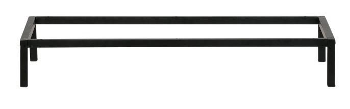 Stalen Tv meubel onderstel buisframe koker maat 2x2cm L180xB30xH15cm (voorraad magazijn artikel)