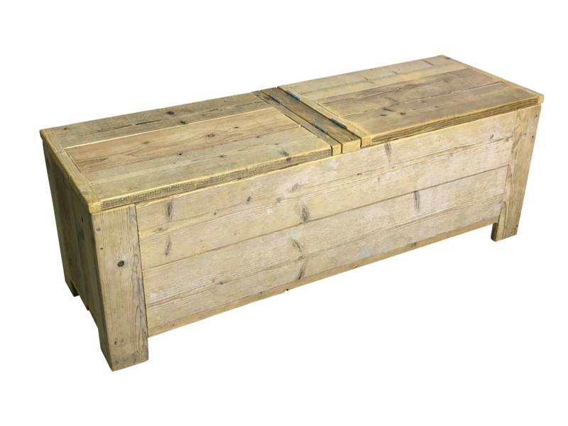 Speelgoedkist van steigerhout afm: L150xB50xH50cm