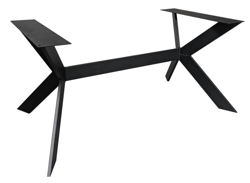 Stalen onderstel Rex Exclusivline zwart (150cm)