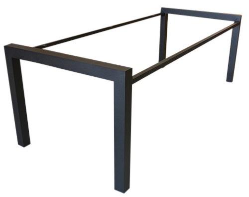Stalen tafel onderstel buisframe N koker model