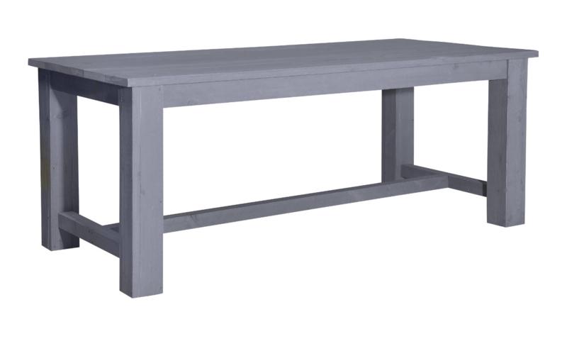 Kasteeltafel steigerhout beton grijs