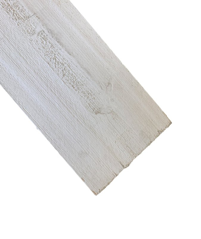 Steigerplank Schelp wit B kwaliteit 3cm dik prijs per meter