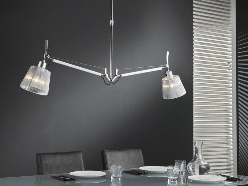 7887/33 Hanglamp 2L multiflex Chrome