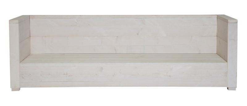 Loungebank Varia 3- zits kleur schelp wit