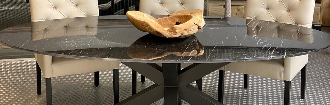 Jorg steigerhout marmeren tafelen