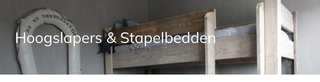 Hoogslapers & Stapelbedden   JORG'S Meubelen