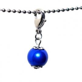Dangle - parel blauw