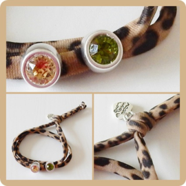 Armband Leopard