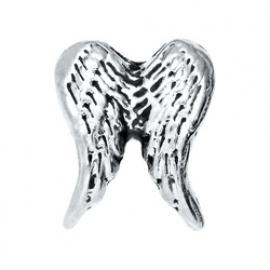Floating locket - charm Vleugels