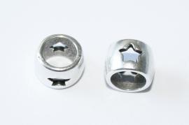 Metalen kraal - ster